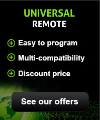 Our Universal TV remote controls